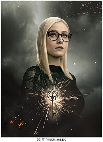 Cloudy Sky in Background w//Magic Key kn Olivia Taylor Dudley 8 inch x 10 inch Photograph The Magicians TV Series 2015 -