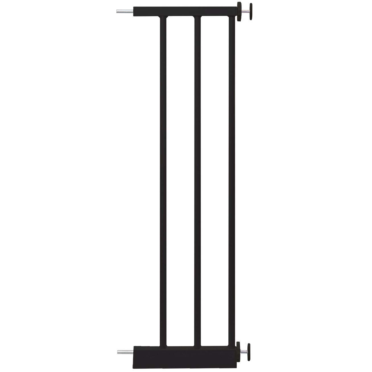 Perma Child Safety Perma Baby Gate Extension, Black, 8 Inch
