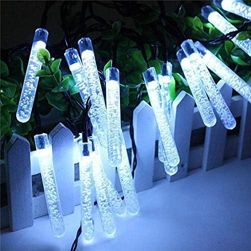 5 m Lichterkette Solar 20 LED Lichterkette Eiszapfen Lichterkette Outdoor Wasserdicht Weihnachten Urlaub Bar Party Dekoration Lichterkette