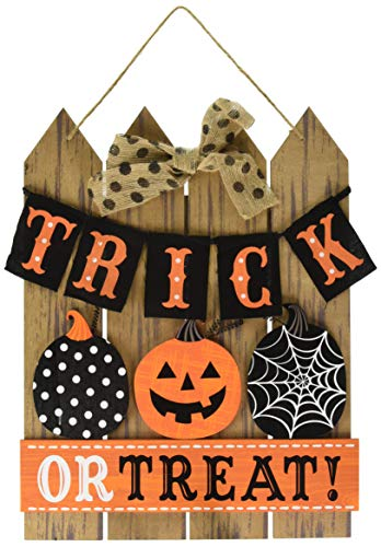 Amscan Trick or Treat Halloween Sign for Door or Home Décor]()