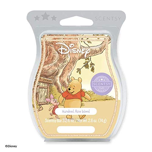 Scentsy Hundred Acre Woods Winnie The Pooh Wax Tart Wickless Candle