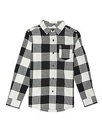 French Toast Boys Long Sleeve Flannel Shirt
