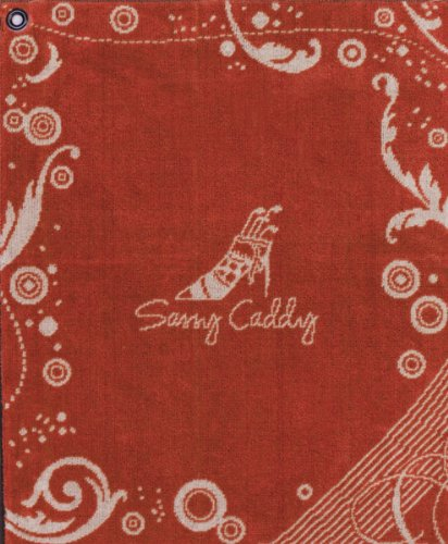 sassy-caddy-womens-golf-towel-orange-white