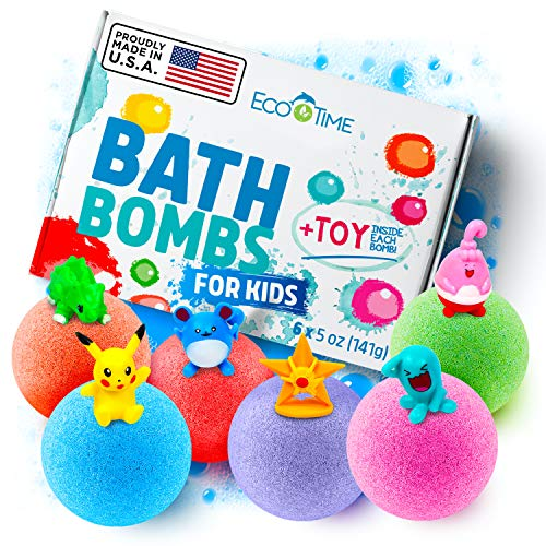 Handmade-Bath-Bombs-for-Kids-with-Surprise-Toys-Inside-100-Natural-and-Organic-Ingredients-Perfect-3-Year-Old-Girl-Toys-or-Even-5-Year-Old-Boy-Gifts-Six-Large-Bath-Bombs-in-Six-Different-Colors