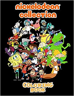 Amazon Com Nickelodeon Collection Coloring Book 90 S Nick Coloring Books For Fans 50 Nicktoons Coloring Pages For Kids And Adults 9798657756104 Will Schneider Books