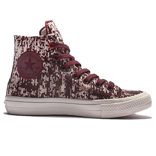 Converse Chuck Taylor All Star II High Sneaker, Montantes Mixte Adulte RED BLOCK/BUFF/BLACK