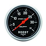 Auto Meter 3404 Sport-Comp Mechanical Boost Gauge