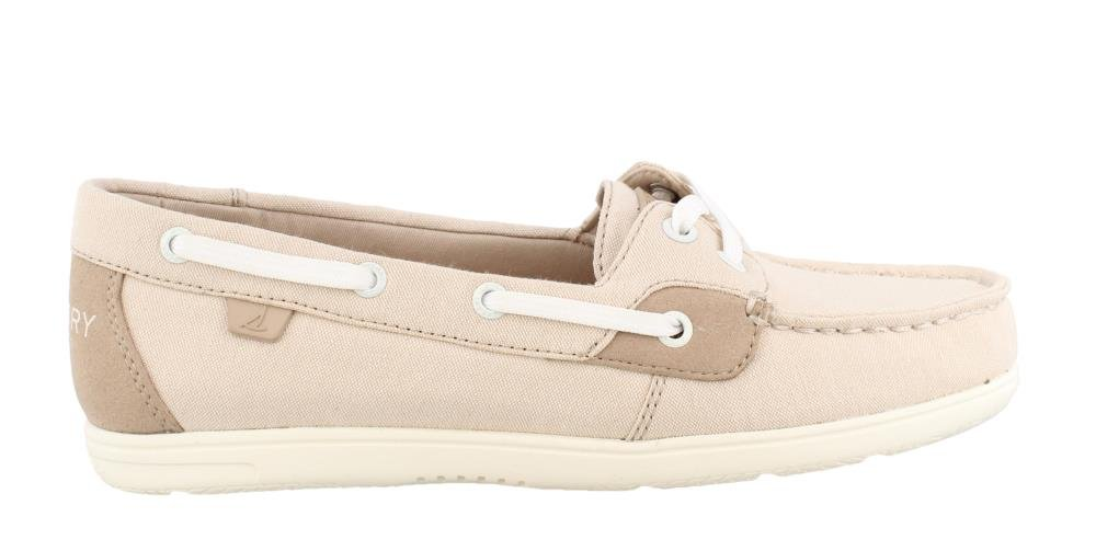 Sperry Womens, Shore Sider Boat Shoes Nude 8 M
