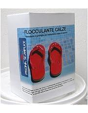 Lapi- Floculante en cartuchos o bolsitas (1 kg) Paquete con 12 unidades. Para un agua de piscina cristalina. Producido en Italia por empresa certificada.