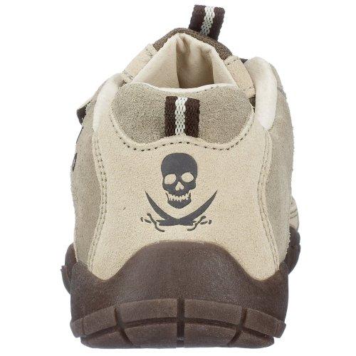 Brütting Jordan V 501062, Jungen Sneaker, grau, (grau-beige-braun)
