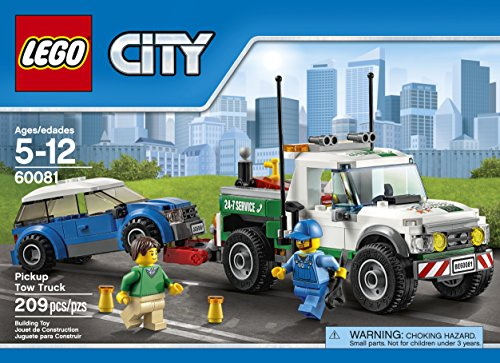 Amazon.com: LEGO City Great Vehicles Pickup Tow Truck (60081): Toys ...
