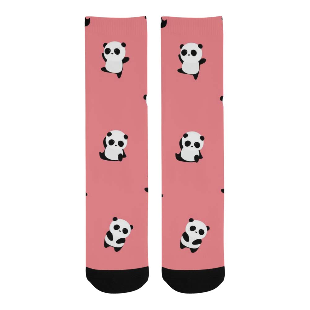 223c45e63f7f Chinese Cute Small Panda For Child Crazy Dress trouser Sock For Men Women  kid at Amazon Women's Clothing store: