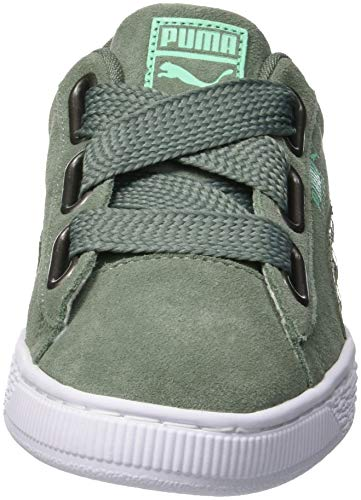 laurel Wreath Heart Femme Sneakers Laurel 02 Gris Basses Street Suede Wreath 2 Wn's Puma Hq1Pwa