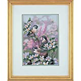 Dimensions Needlecrafts 6884 Counted Cross Stitch, Chickadees In Spring