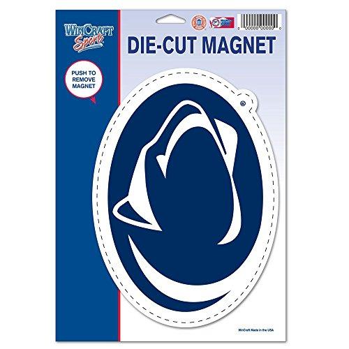 - Wincraft NCAA Penn State University 81509010 Die Cut Logo Magnet, Small, Black