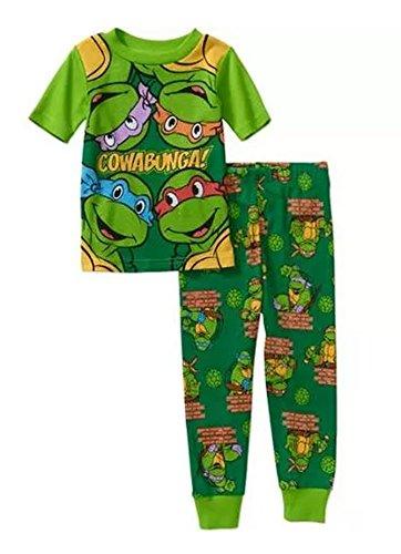 Teenage Mutant Ninja Turtles Little Boys Cotton Pajama Set (3T)