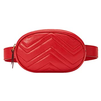 15b51a85546f Amazon.com   Designer Waist Bag for Women Fanny Packs Fashion Purses ...