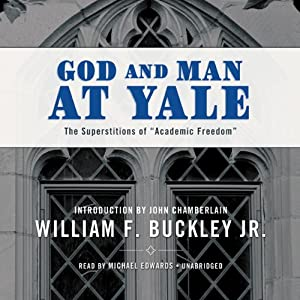 God and Man at Yale Audiobook