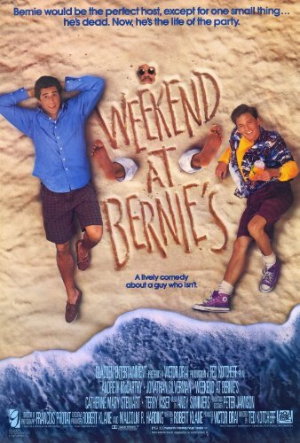 Weekend at Bernies POSTER Movie (27 x 40 Inches - 69cm x 102cm) (1989)