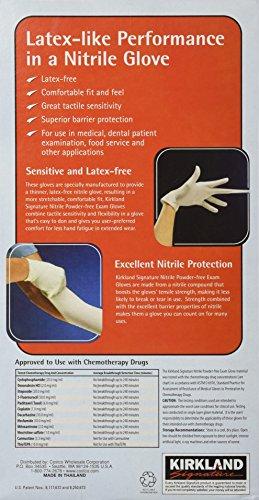 Kirkland Signature Latex-Free Nitrile Exam Multi-Purpose Gloves, Small, 400 Count by Kirkland Signature (Image #1)
