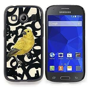 "S-type Números de aves Primavera Resumen"" - Arte & diseño plástico duro Fundas Cover Cubre Hard Case Cover For Samsung Galaxy Ace Style LTE/ G357"