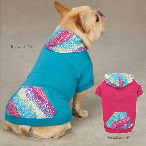 East Side Collection ZM2947 14 81 Confetti Pullover for Dogs, Small/Medium, Raspberry