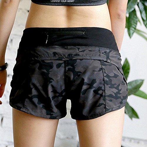 Yabliss - Pantalón corto deportivo - para mujer