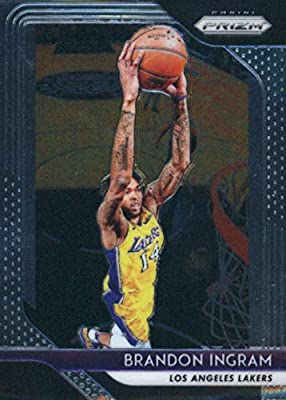 81ca8af01b5 2018-19 Panini Prizm Basketball #26 Brandon Ingram Los Angeles Lakers  Official NBA Trading Card