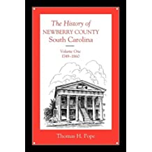 History of Newberry County, Volume 1