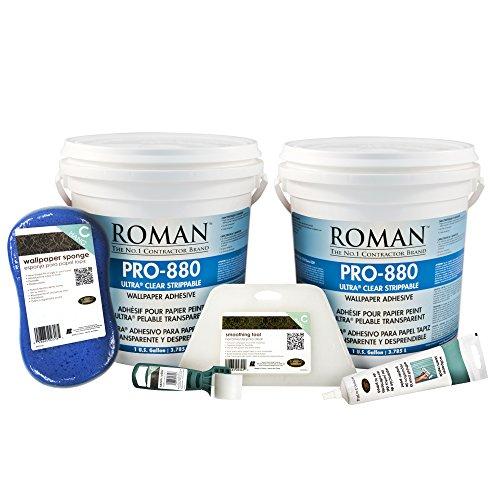 roman-209924-2-gal-hallway-pro-880-wallpaper-adhesive-kit-medium-room