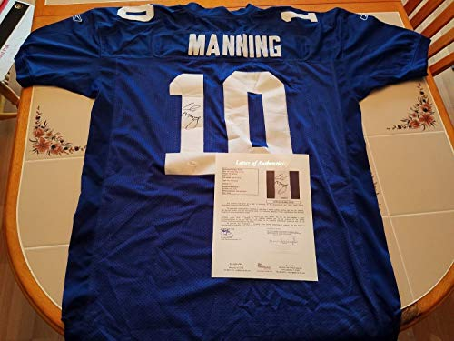 Eli Manning Autographed Signed Giants Custom Jersey - JSA Authentic Memorabilia Full Letter ()