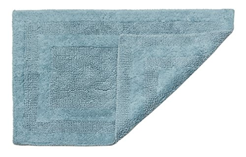 HygroSoft Reversible Fast Drying and Absorbent Bath Rug, 24 by 40-Inch, Glacier (Glacier Four)