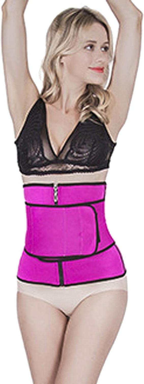 Fenido Sweat Waist Trainer Neoprene Sauna Trimmer Trainer Corset Vest Women Weight Loss