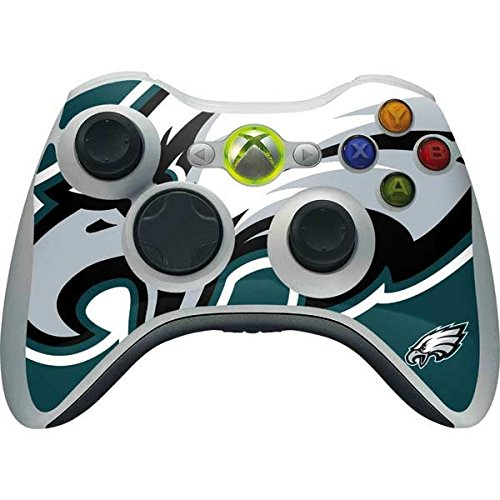 Skinit NFL Philadelphia Eagles Xbox 360 Wireless Controller Skin - Philadelphia Eagles Large Logo Design - Ultra Thin, Lightweight Vinyl Decal Protection