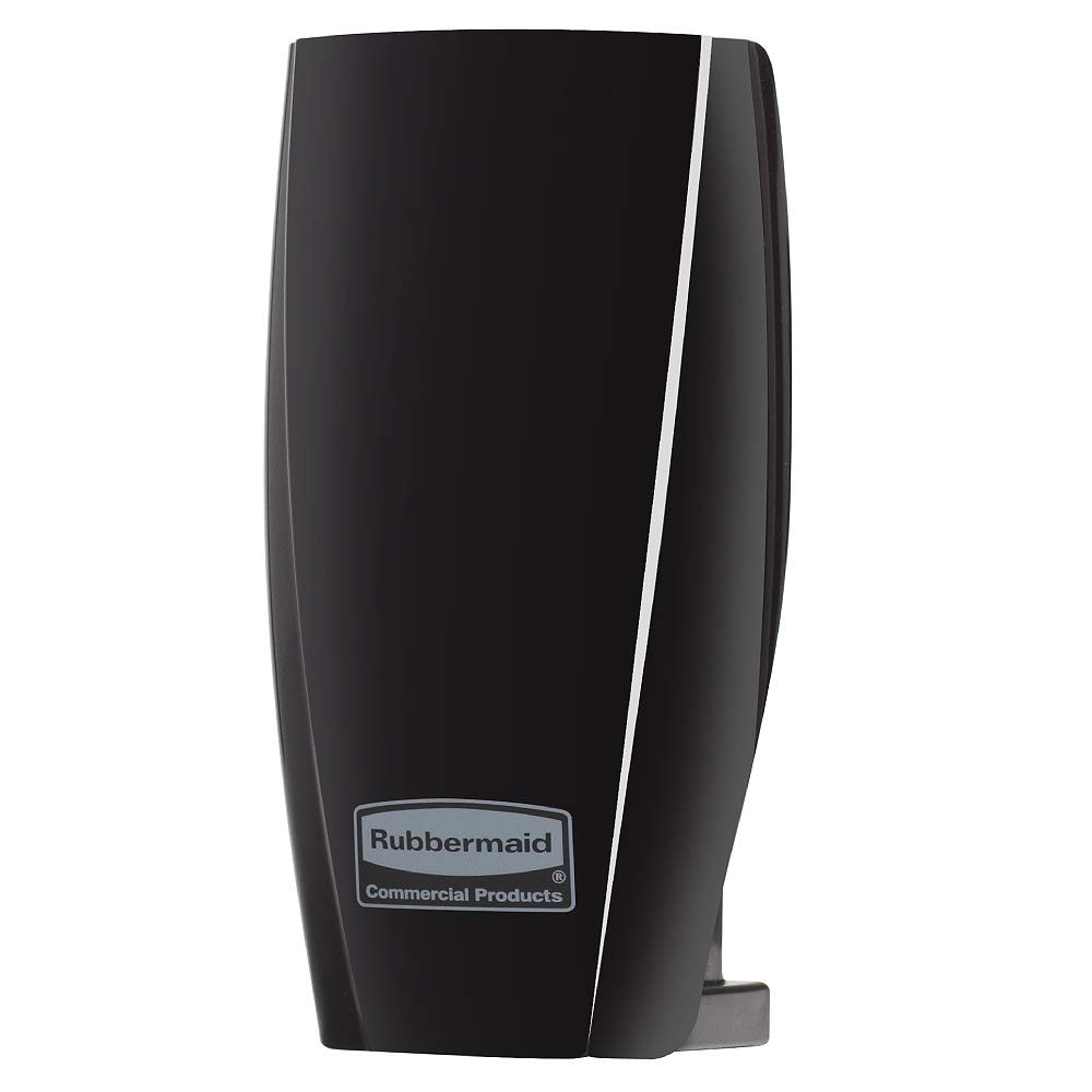 Rubbermaid Commercial Products 1793546 TCell Automated Odor-Controlling Aerosol Air Care System, Fanless, Black