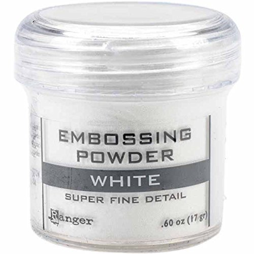 Ranger Embossing Powder, .60 oz, White