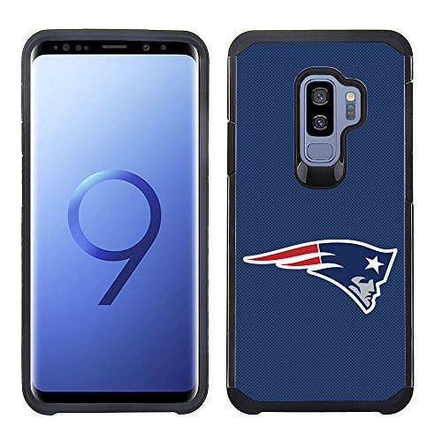 - Prime Brands Group Textured Team Color Cell Phone Case for Samsung Galaxy S9 Plus - NFL Licensed New England Patriots