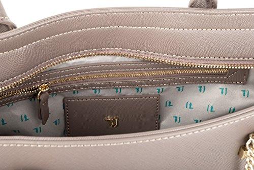 Trussardi Jeans Borsa Donna 75B00018 1Y090122 B261 Taupe AI17
