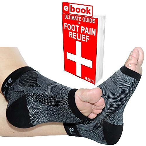 1ST Elite X-Sleeves -Medical Grade Graduated Ankle Brace Compression Socks for Achilles Tendonitis, Plantar Fasciitis & More (Get Best Heated Gloves compare prices)
