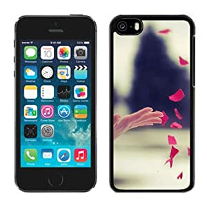 Popular And Durable Designed Case For iPhone 5C With Fluttering Petals Phone Case