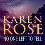 No One Left to Tell | Karen Rose