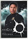 Heroes Matt Parkman Police Uniform Costume Trading Card
