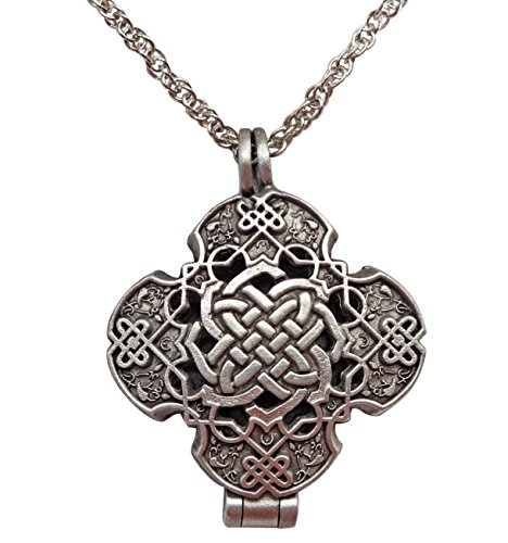 Prayer Locket (Cathedral Art Celtic Prayer Locket Necklace)