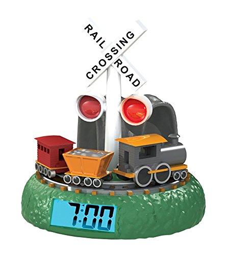 Train Alarm (Mirari PlayMonster Sleepyhead Dreamland Crossing Animated Alarm Clock to Sleepyhead Animated Alarm Clock - Dreamland Crossing)