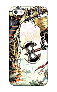 2859249K97702831 Protective Tpu Case With Fashion Design For Iphone 5/5s (fear Itself)
