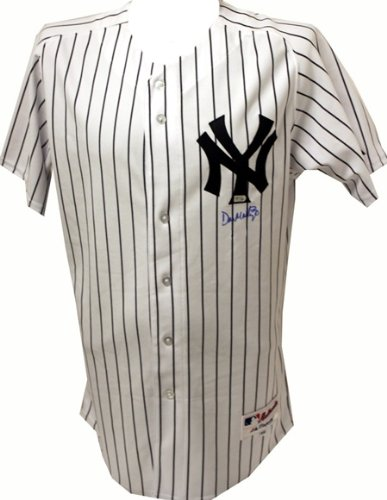 wholesale dealer a09b0 a2731 Don Mattingly Signed Yankees Jersey-Official at Amazon's ...