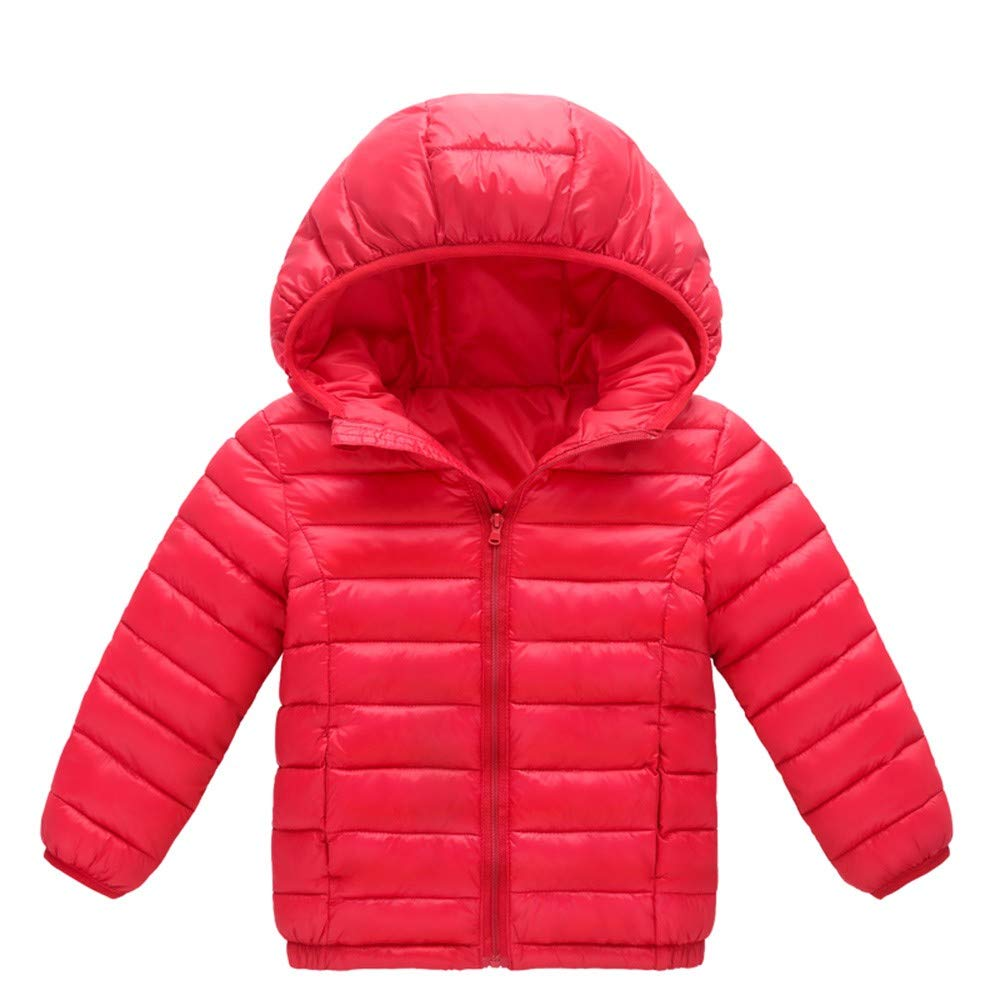 Tenworld B Kids Boys Girls Lightweight Packable Down Jacket Outwear Puffer Down Coat Kids Outerwear