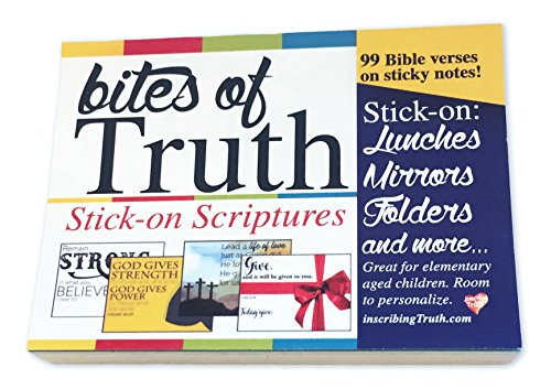 Bites of Truth - Stick-on Scriptures by Inscribing Truth