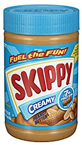 Skippy Peanut Butter, Creamy, 16.3-Ounce Jars (Pack of 6)