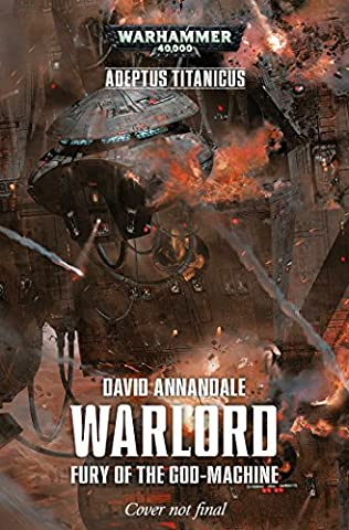 book cover of Warlord: Fury of the God-Machine